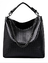 Women Bags All Seasons PU Tote Zipper for Casual Red Black Gold Blue