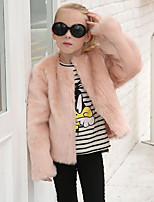 Kids' Wraps Coats/Jackets Faux Fur Wedding Party/ Evening