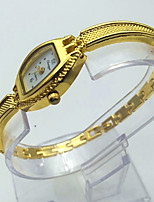 Women's Kid's Bracelet Watch Wrist watch Fashion Watch Chinese Quartz Alloy Band Gold