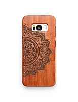 Case For Samsung Galaxy S8 Plus S8 Pattern Back Cover Flower Hard Wooden for S8 Plus S8 S7 edge S7 S6 edge plus S6 edge S6 S6 Active