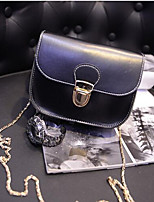 Women Bags All Seasons PU Shoulder Bag Zipper for Casual Blue Black Wine