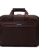 Men Bags All Seasons Oxford Cloth Briefcase Zipper for Office & Career Black Gray Coffee
