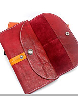 Women Bags Cowhide Wallet Buttons Zipper for Event/Party Formal All Seasons Black Red Yellow
