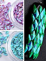 12 couleur coloré paillettes diamant laser photothérapie costume creux symphonie