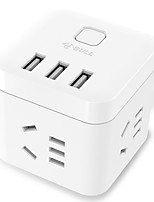 cheap -BULL) GN-U303U AU Plug Phone USB Charger Power Strips 150 cm 3 Outlets 3 USB Ports 10A AC 100V-250V