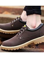 Беговые кроссовки Альпинистские ботинки Муж. Воздухопроницаемость Спорт в свободное время Низкое голенище Искусственное волокно Резина