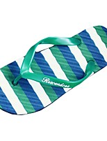 Men's Shoes PU Summer Comfort Slippers & Flip-Flops For Casual Green Coffee Black