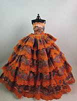 Festa/Noite Vestidos Para Boneca Barbie Jacinto + Cinza Vestidos Para Menina de Boneca de Brinquedo