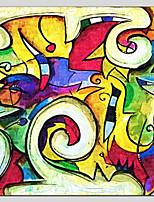 Dipinta a mano Astratto Astratto Realismo Pastorale 14pcs Tela Hang-Dipinto ad olio For Decorazioni per la casa