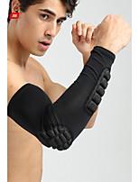 Компрессионные рукава для Баскетбол Бег Унисекс На открытом воздухе Ударопрочный Учебный Лайкра спандекс 1шт