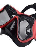 Маска для снорклинга Для профессионалов Подводное плавание и снорклинг Доски для сёрфинга силиконовый для Универсальные