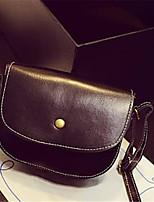 Women Bags All Seasons PU Shoulder Bag Buttons for Black Fuchsia Wine