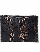 Women Bags All Seasons PU Clutch Zipper for Casual Outdoor Light Gray Coffee Black