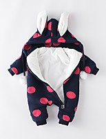 Baby Print One-Pieces,Cotton Winter Fall