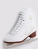 Kid's Ice Skates PVC Leather Wearable