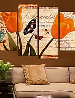 Impression sur Toile Contemporain,1 Toile Imprimé Décoration murale For Décoration d'intérieur