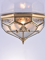 Traditional/Classic Flush Mount For Indoors Entry Garage 110V-220V 220V-240VV Bulb Not Included
