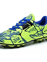 Boys' Shoes PU Spring Fall Comfort Athletic Shoes Soccer Shoes Lace-up For Athletic Burgundy Light Green Light Blue