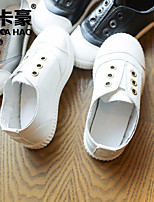 Girls' Shoes PU Fall Comfort Sneakers For Casual Silver Black White