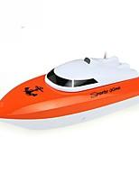 Bateau RC  WL Toys HY802Orange 4 Chaînes 20 KM / H RTR