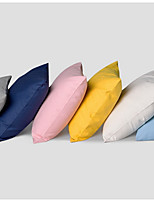 6 pcs Cotton Pillow Case Bed Pillow Travel Pillow Sofa Cushion Pillow Cover,Solid Classic Modern Style Casual Basic Accent/Decorative