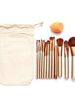 1set Makeup Brush Set Synthetic Hair