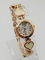 Women's Bracelet Watch Wrist watch Fashion Watch Quartz Alloy Band Vintage Rose Gold