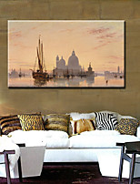 Stretched Canvas Print Comtemporary,One-piece Suit Canvas Square Print Wall Decor For Home Decoration