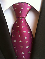 Men's Polyster Neck Tie,Dots Dots All Seasons