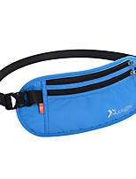 2 L Waist Bag/Waistpack Camping / Hiking Hiking Running Fast Dry Cloth Nylon