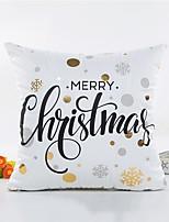 1 pezzi Altro Copricuscino,Frasi famose Stile Natale
