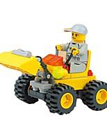 Building Blocks Wheel Excavator Toys Excavating Machinery Kids 1 Pieces