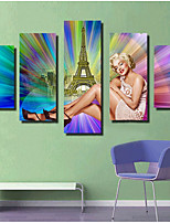 Canvas Set Comtemporary,One-piece Suit Canvas Horizontal Print Wall Decor For Home Decoration