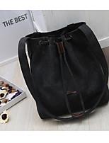 Women Bags All Seasons Canvas Shoulder Bag Zipper for Casual Blue Black Gray