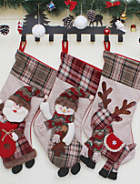 1pc Noël Décorations de NoëlForDécorations de vacances 22*25*48cm