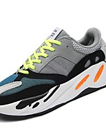 Women's Shoes Breathable Mesh Tulle Spring Fall Comfort Sneakers Round Toe Lace-up For Athletic Casual Gray Black
