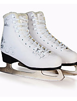 Women's Kid's Figure Skates Ice Skates PVC Leather Trainer Wearable