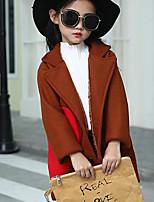 Girls' Others Jacket & Coat Purple Khaki
