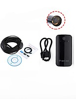 Lente de 10mm wifi endoscópio usb camera inspection borescope impermeável ip67 para android ios pc 15m cabo snake wireless cam