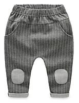 Boys' Stripes Pants-Cotton Fall