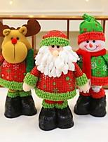 Autre Bonhomme de Neige Santa Vacances Résidentiel Noël SoiréeForDécorations de vacances