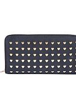 Women Bags All Seasons PU Clutch Zipper for Shopping Casual Blue Black Blushing Pink Gray Yellow