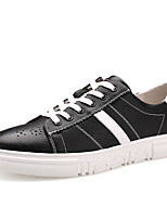 Men's Shoes Nappa Leather Spring Summer Comfort Sneakers For Casual Outdoor Red Black White