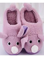 Girls' Shoes Fleece Winter Comfort Slippers & Flip-Flops For Casual Blushing Pink Purple Gray