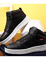 Men's Shoes Synthetic Microfiber PU Spring Fall Light Soles Sneakers For Casual White Black Blushing Pink Camel
