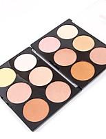 Face Primer Powder Concealer/Contour Highlighters/Bronzers Shimmer Mineral Loose powder Whitening Long Lasting Natural Adjustable Face