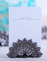 support de carte de mariage en alliage de zinc permanent style réception de mariage