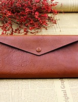 Women Bags Cowhide Wallet Zipper for Event/Party Formal All Seasons Black Red Brown