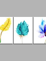 Flower Family 3-Piece Modern Artwork Wall Art for Room Decoration 20x28inchx3