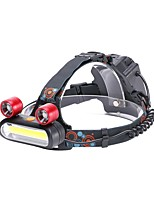 U'King Headlamps Headlight 3000 lm 4 Mode - with USB Cable Portable Durable Camping/Hiking/Caving Everyday Use Cycling/Bike Hunting